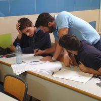 alumnos de segundo de frío en clase de teoría